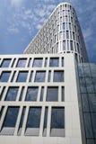 De collectieve bedrijfsdistrictsarchitectuur van de binnenstad Stock Foto's