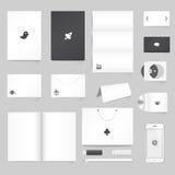 De collectieve Malplaatjes van de Identiteit Stock Foto