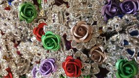 De colourfullrozen van toebehoren Royalty-vrije Stock Afbeelding