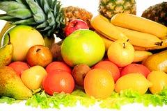 De combinatie van vruchten Royalty-vrije Stock Afbeeldingen