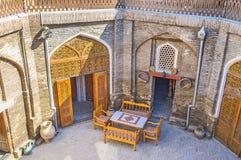 De comfortabele binnenplaats royalty-vrije stock afbeelding
