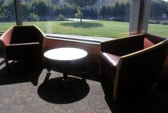De comfortabele Hoek van de Bibliotheek Stock Foto