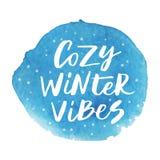 De comfortabele winter vibes Stock Foto's