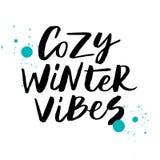 De comfortabele winter vibes Royalty-vrije Stock Afbeelding