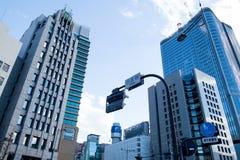 De commerciële Grote stad van Japan Stock Foto