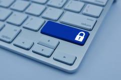 De commerciële veiligheidsconcept van Internet Stock Foto