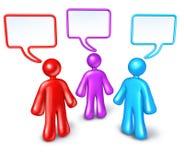 De Communautaire mededeling van het voorzien van een netwerk Stock Afbeeldingen