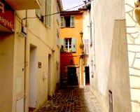 De commune van Frejus, Frankrijk stock foto