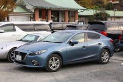 De compacte auto van Mazda Royalty-vrije Stock Afbeeldingen