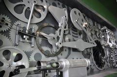 De componenten van de machine Stock Afbeelding
