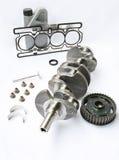De componenten van de motor en delen Royalty-vrije Stock Afbeelding
