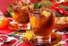 De compote van Kerstmis van droge vruchten Royalty-vrije Stock Foto's