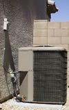De Compressor van de Airconditioner stock afbeelding
