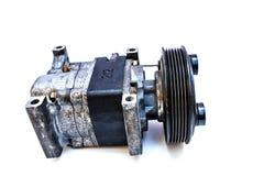 De compressor van de autolucht stock afbeeldingen