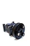 De compressor van de autolucht royalty-vrije stock foto