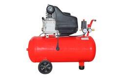 De compressor van de lucht Stock Foto's