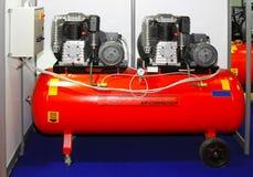 De compressor van de lucht stock afbeelding
