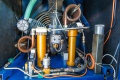 De Compressor van de lucht royalty-vrije stock fotografie