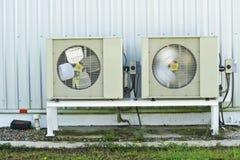 De compressor van de lucht. stock foto