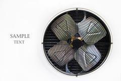 De compressor van de witmetaallucht royalty-vrije stock foto's
