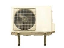 De Compressor van de witmetaallucht. stock afbeelding
