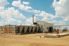 De compressor van het gas. stock afbeelding