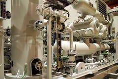 De compressor van het gas royalty-vrije stock afbeeldingen