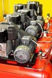 De compressoren van de lucht royalty-vrije stock foto