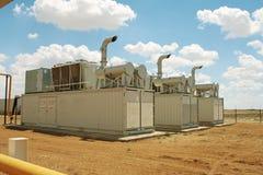 De compressoren van het gas. royalty-vrije stock afbeelding