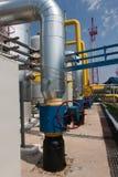 De compressorpost van het gas Royalty-vrije Stock Foto