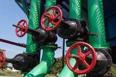 De compressorpost van het gas Royalty-vrije Stock Afbeelding