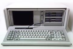 De computadora personal viejo imágenes de archivo libres de regalías