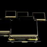 De computer van de nota Royalty-vrije Stock Afbeeldingen