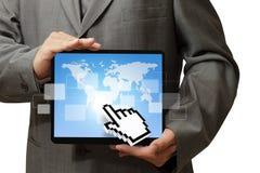 De computer van de tablet Stock Foto