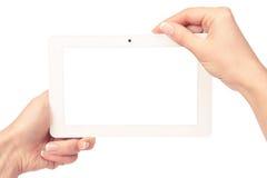 De computer van de tablet Stock Afbeeldingen