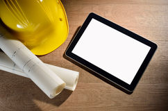 De computer van de tablet Stock Afbeelding