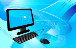 De computer van de technologie Royalty-vrije Stock Afbeeldingen