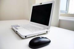 De computer van het bureau Stock Foto's