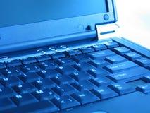 De Computer van het notitieboekje stock afbeeldingen