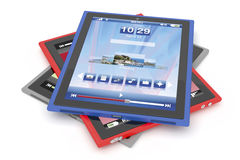 De computers van de tablet royalty-vrije illustratie