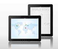 De computers van de tablet stock illustratie