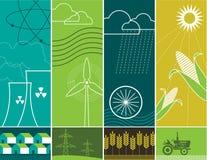 De Concepten van de energie Stock Afbeeldingen