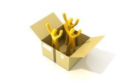 De concepten van de logistiekindustrie Royalty-vrije Stock Foto