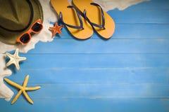 De concepten van de de zomervakantie Stock Afbeelding