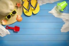 De concepten van de de zomervakantie Stock Foto