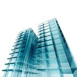 De conceptuele bouw van de bank stock illustratie