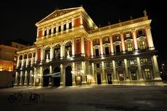 De concertzaal van Musikverein - Wenen Wien - Oostenrijk Stock Afbeelding