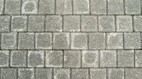 De concrete achtergrond van de cementbestrating Stock Afbeelding