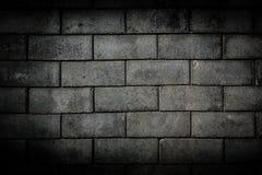 De concrete achtergrond van de baksteentextuur Stock Foto