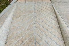 De concrete helling van de straatweg Royalty-vrije Stock Fotografie